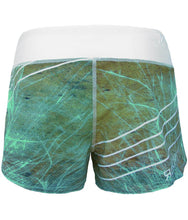 europa-performance-crossfit-booty-shorts-white-turquoise-blue-green-tan-marbled-design-back-by-rokfit