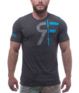 the-original-mens-crossfit-shirt-heather-charcoal-front-by-rokfit