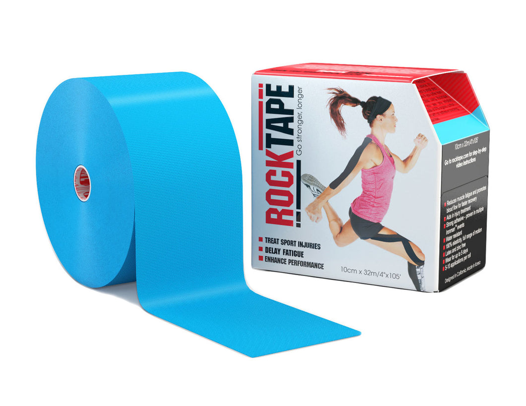 rocktape-kinesiology-tape-4-inch-discount-bulk-big-daddy-roll-crossfit-application-tape-blue-electric-tape