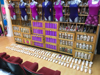 Pointe shoe fitting experts fro the North West of England,  North Wales, Chester, Wirral, Liverpool, Cheshire & Merseyside.