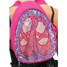 Reversible Glitter Backpack-Bags-Capezio-Pink-That's Entertainment Dancewear