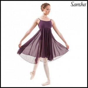 Camisole Lyrical Dress-Contempary-Sansha-That's Entertainment Dancewear