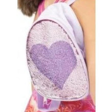 Reversible Glitter Backpack-Bags-Capezio-Lilac-That's Entertainment Dancewear