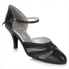 Closed Toe Ankle Bar - Freed of london-That's Entertainment Dancewear-Black-3-That's Entertainment Dancewear
