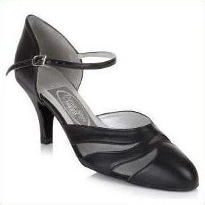 "Leather Ballroom 2.5"" Heel - Freed of London-That's Entertainment Dancewear-Black-3-That's Entertainment Dancewear"