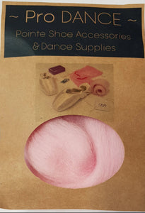 Candy Floss Pink Lambswool - Pro DANCE Pointe Shoe Accessories-Accessories-Pro Dance-That's Entertainment Dancewear