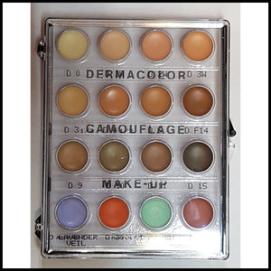 DermaColor Camouflage Mini Palette-Make Up-Kryolan-NVQB-That's Entertainment Dancewear