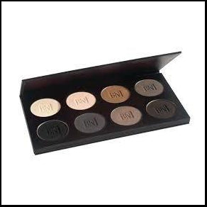 Ben Nye - Essential Eye Shadow Palette - 8 Colour Palette-Ben Nye-That's Entertainment Dancewear