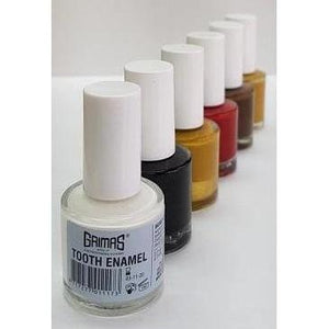 Grimas Professional Tooth Enamel Colouring 10ml with brush-Make Up-Grimas-That's Entertainment Dancewear