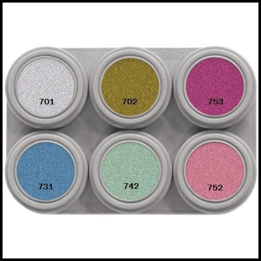 Grimas 6 Colour Palette Pearl Water Based-Grimas-That's Entertainment Dancewear