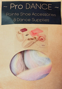Rainbow Lambswool - Pro DANCE Pointe Shoe Accessories-Accessories-Pro Dance-That's Entertainment Dancewear