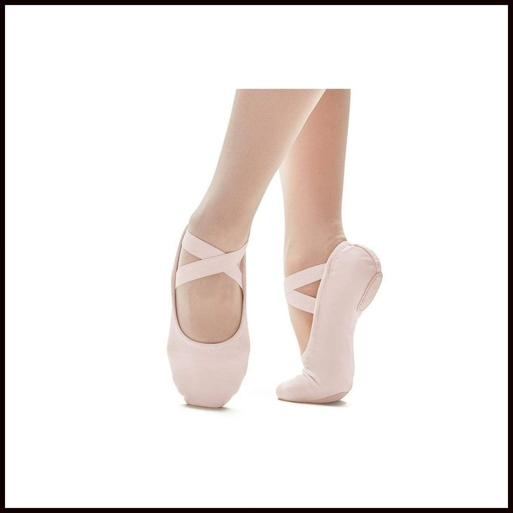 "So Danca ""SUPERPRO"" Stretch Canvas Ballet Shoe-Ballet Shoes-So Danca-Pink-UK2-That's Entertainment Dancewear"