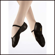 Bloch Arise Leather Ballet Shoes Childs-Ballet Shoes-Bloch-Black-7-That's Entertainment Dancewear