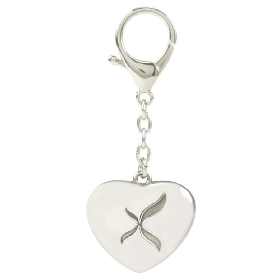 Capezio Silver Heart Keyring-Gift Ideas-Capezio-That's Entertainment Dancewear