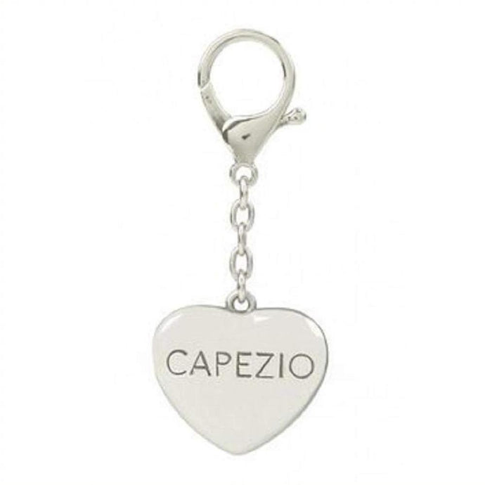 Capezio Silver Heart Keyring-Capezio-That's Entertainment Dancewear