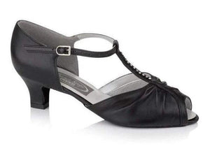 Diamante T-Bar Social Dancing Shoe - Freed of London-Ballroom & Latin-Freed-That's Entertainment Dancewear