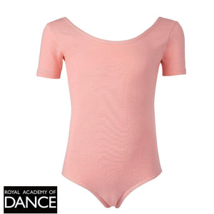 R.A.D Chloe, Short Sleeved Leotard-Regulation Leotard-Freed-Pink-00-That's Entertainment Dancewear