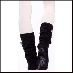 Russian Pointe Fleece Warm Up Socks-Accessories-Russian Pointe-Black-Small (UK3-4)-That's Entertainment Dancewear