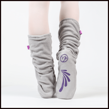 Russian Pointe Fleece Warm Up Socks-Accessories-Russian Pointe-Grey-Small (UK3-4)-That's Entertainment Dancewear