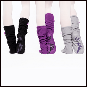 Russian Pointe Fleece Warm Up Socks-Accessories-Russian Pointe-That's Entertainment Dancewear