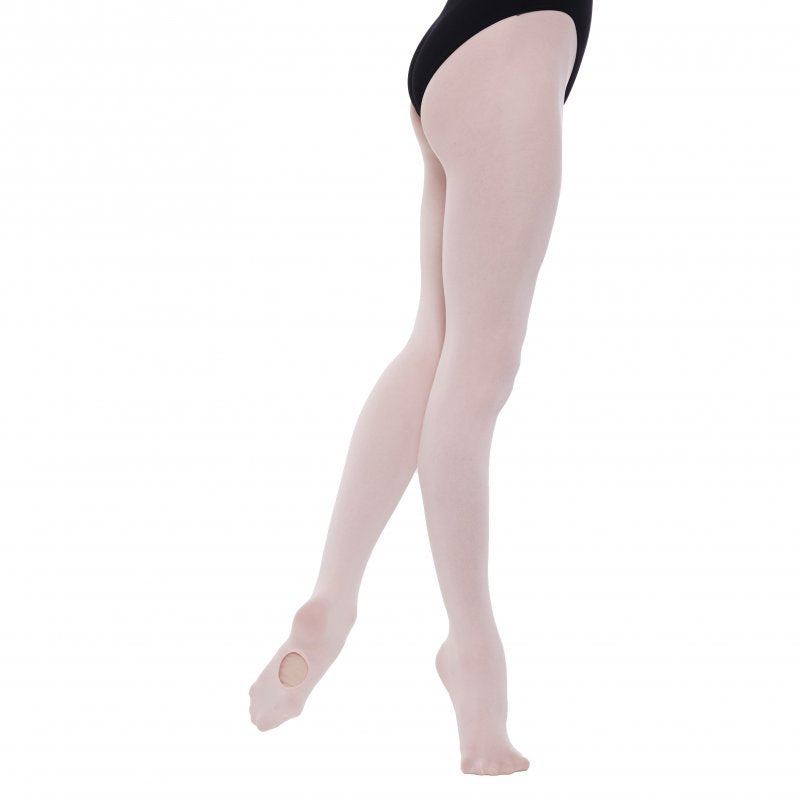 Adult - Pink Convertible Ballet Tights