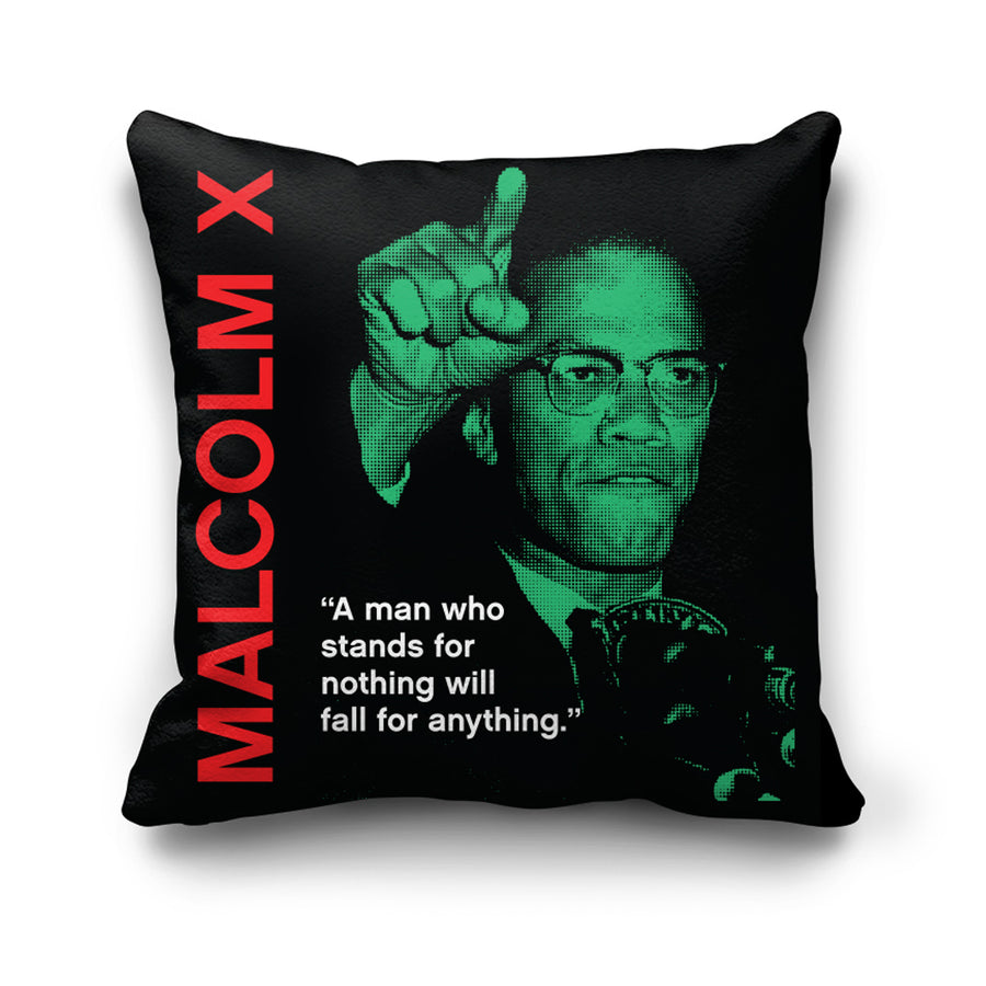 Fall for anything Pillow in Black