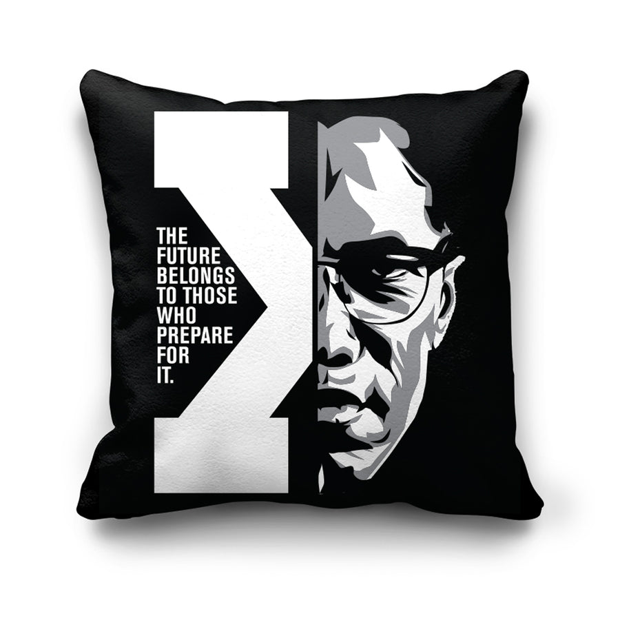 Future Pillow in Black