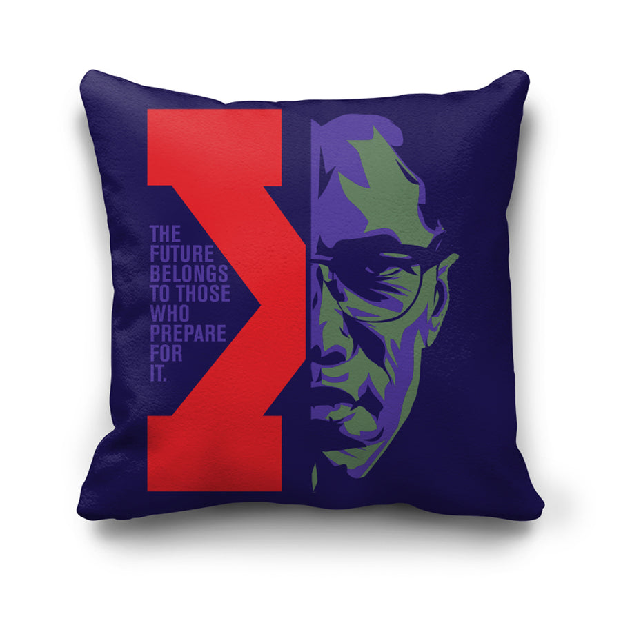 Future Pillow in Purple