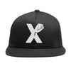 Fist Crest Snapback in Black