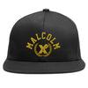 X Fist Crest Snapback In Black