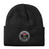 Crest Beanie in Black