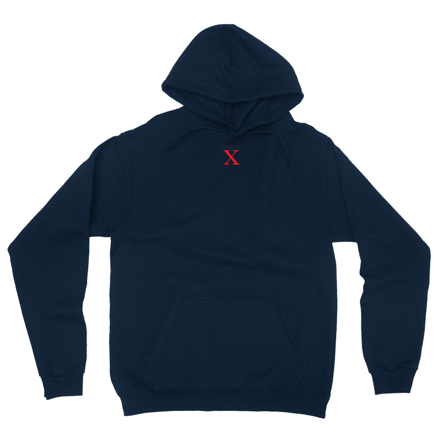 By Any Means Pullover Hoodie in Navy