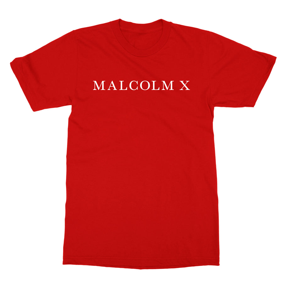 Written Tee in Red