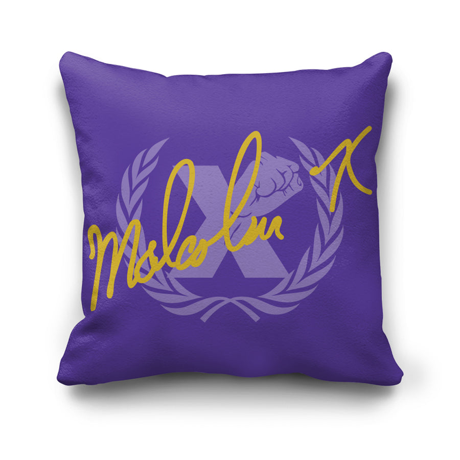 Signature Pillow in Purple