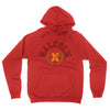 X Fist Crest PO Hoodie in Red