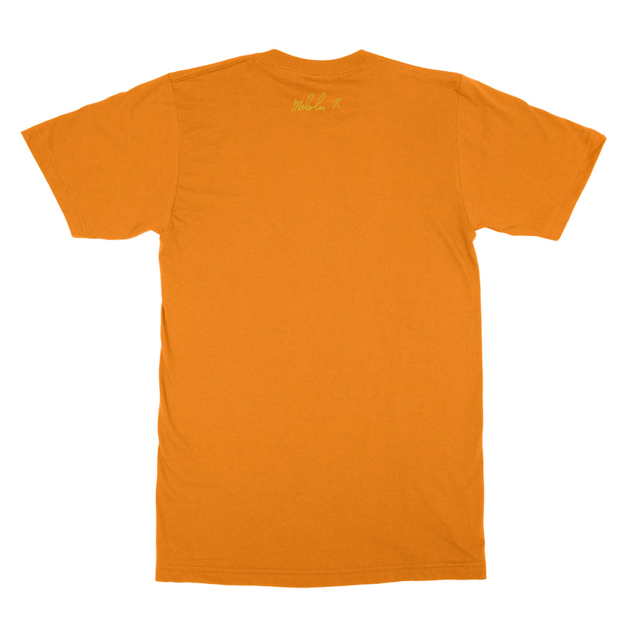 X Fist Tee In Orange