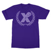 X Fist Tee In Purple