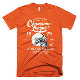 American Football Vintage T-Shirt Orange