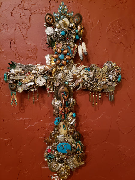 Turquoise Jewelry Cross