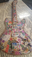 Stamped out electric guitar