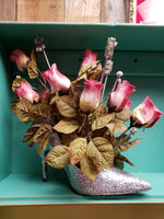 High heel flower arrangement