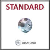 Standard Mount, Diamond Orifice Assembly for Standard Mounts - All Sizes