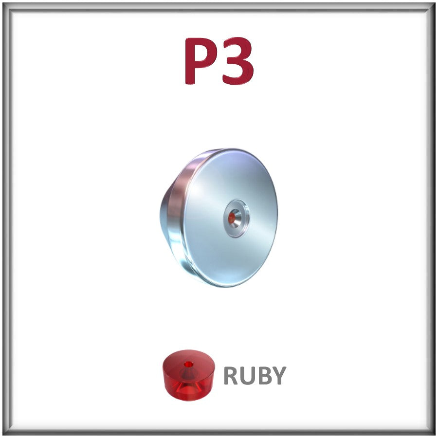 P3, Ruby Orifice Assembly for the P3 Mount - All Sizes