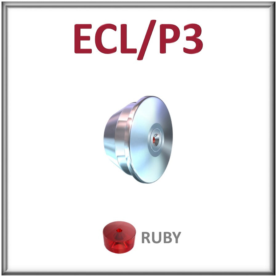 ECL/P3, Ruby Orifice Assembly for the ECL/P3 Mount - All Sizes