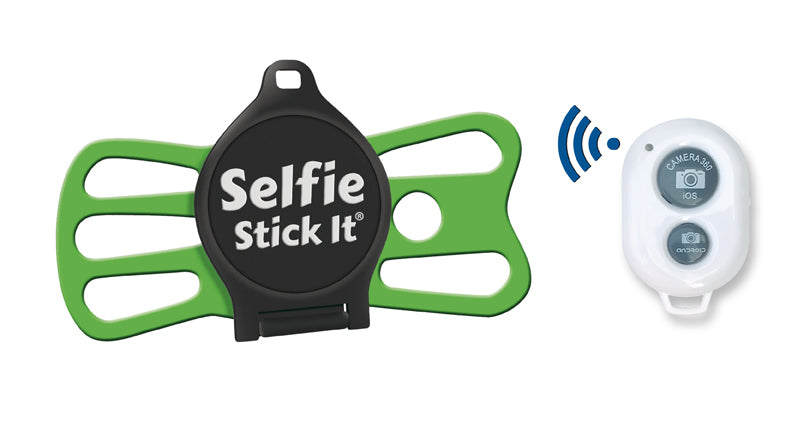 selfie_stick_it_white_green_remote