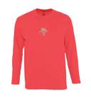 Monarch Long Sleeve T-Shirt Flower print