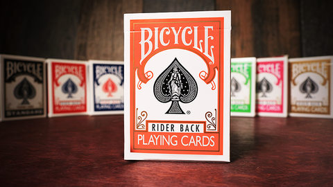 Bicycle Orange Playing Cards by USPCC