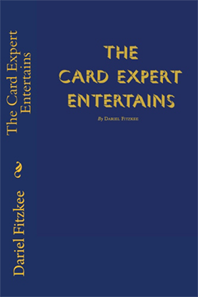 The Card Expert Entertains by Dariel Fitzkee - Book