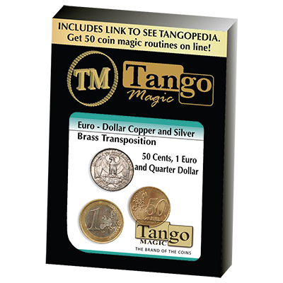 Euro-Dollar Silver/Copper/Brass Transposition (ED005) by Tango- Trick