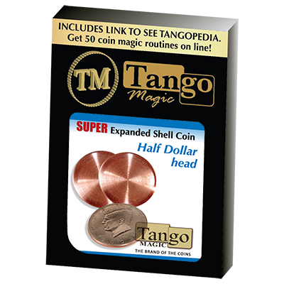 Super Expanded Shell Half Dollar head by Tango -Trick (D0081)